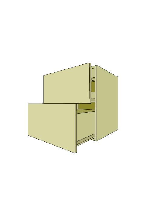 2-Drawer Cooktop Base