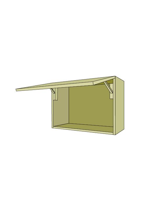 21″H Horizontal Door Wall Upper
