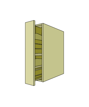 Pull Out Pantry Base