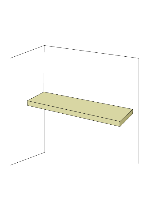 Shallow Adjustable Shelf