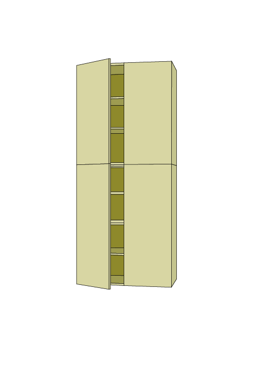 96″H Extra Wide Pantry Tall