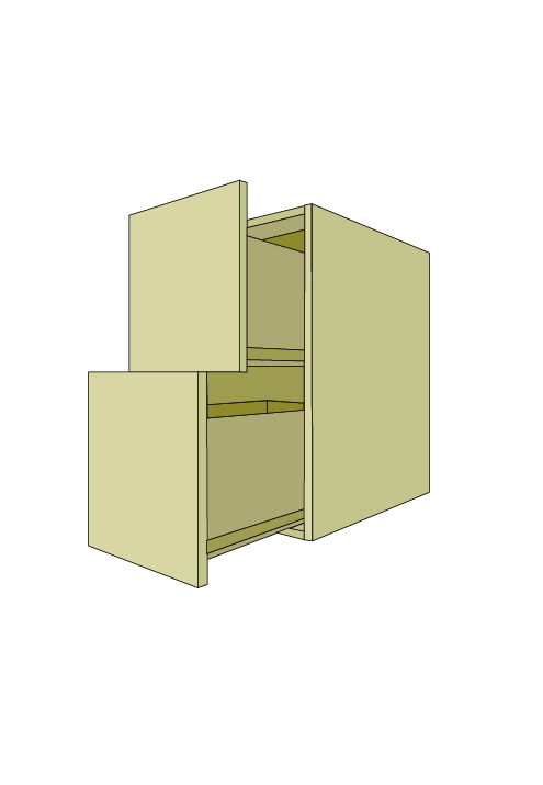 Standard 2-Drawer Base