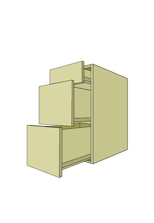 Standard 3-Drawer Base