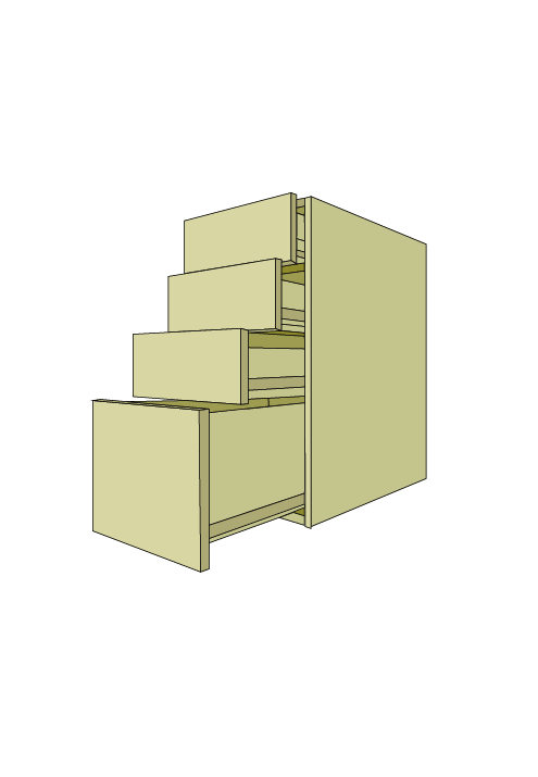 Standard 4-Drawer Base