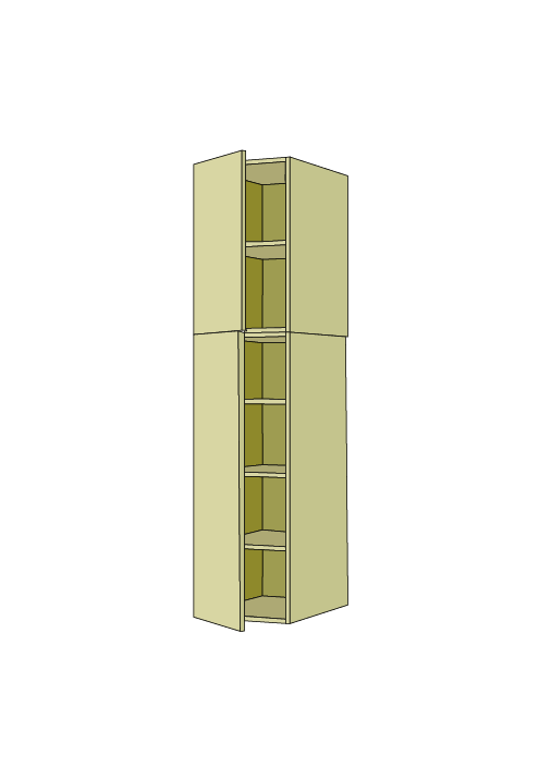90″H Standard Pantry Tall