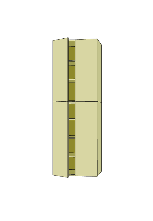 96″H Wide Pantry Tall